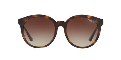 Vogue - 0VO5140SD Havana Round Women Sunglasses - 56mm