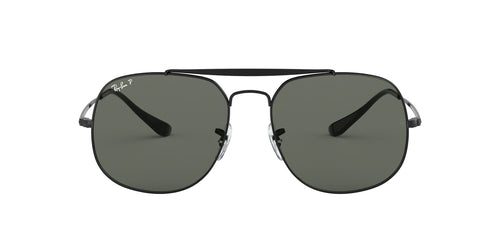 Ray Ban - General Black Square Men Sunglasses - 57mm