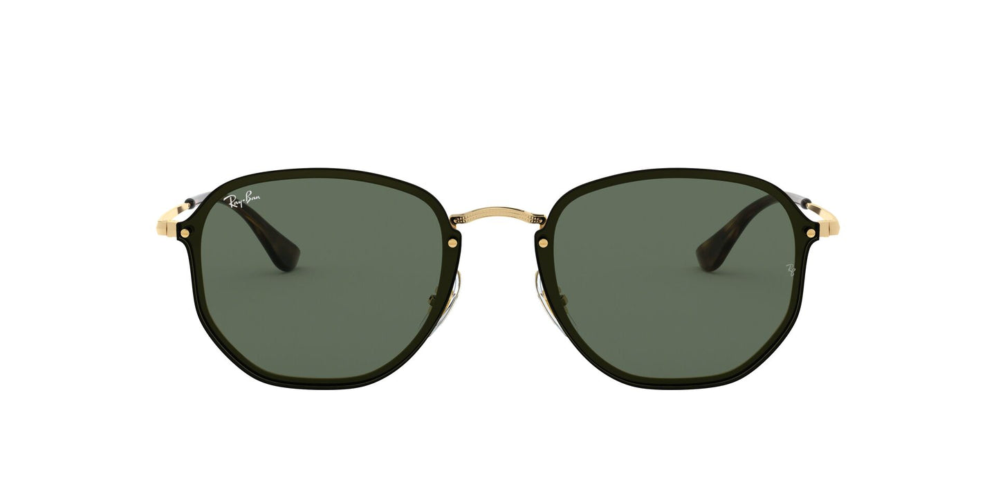 Ray Ban - RB3579N Gold Oval Unisex Sunglasses - 58mm