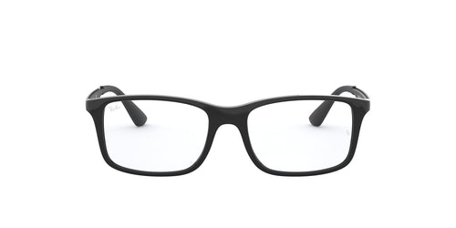 Ray Ban Jr - RY1570 Shiny Black Pillow Unisex Eyeglasses - 47mm