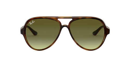 Ray Ban - RB4125 Tortoise Aviator Unisex Sunglasses - 59mm