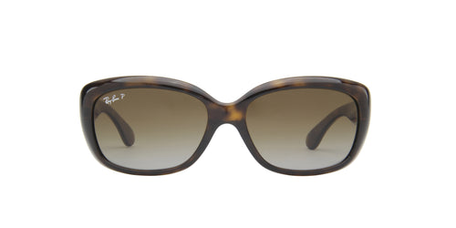 Ray Ban - Jackie Ohh Light Havana Rectangle Women Sunglasses - 58mm