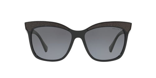 Ralph- Polo - RA5235 Black Square Women Sunglasses - 56mm