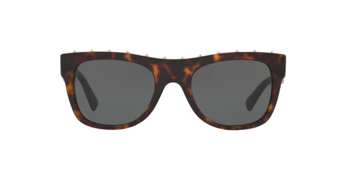 Valentino - VA4023 Havana Pillow Women Sunglasses - 51mm