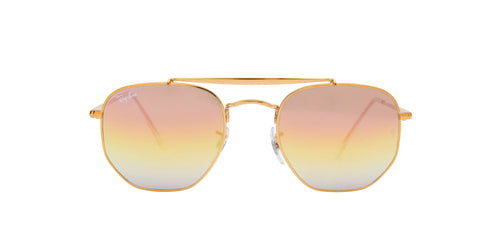 Ray Ban - Marshal Light Bronze Irregular Unisex Sunglasses - 51mm