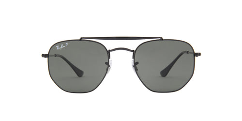 Ray Ban - Marshal Black Irregular Unisex Sunglasses - 51mm