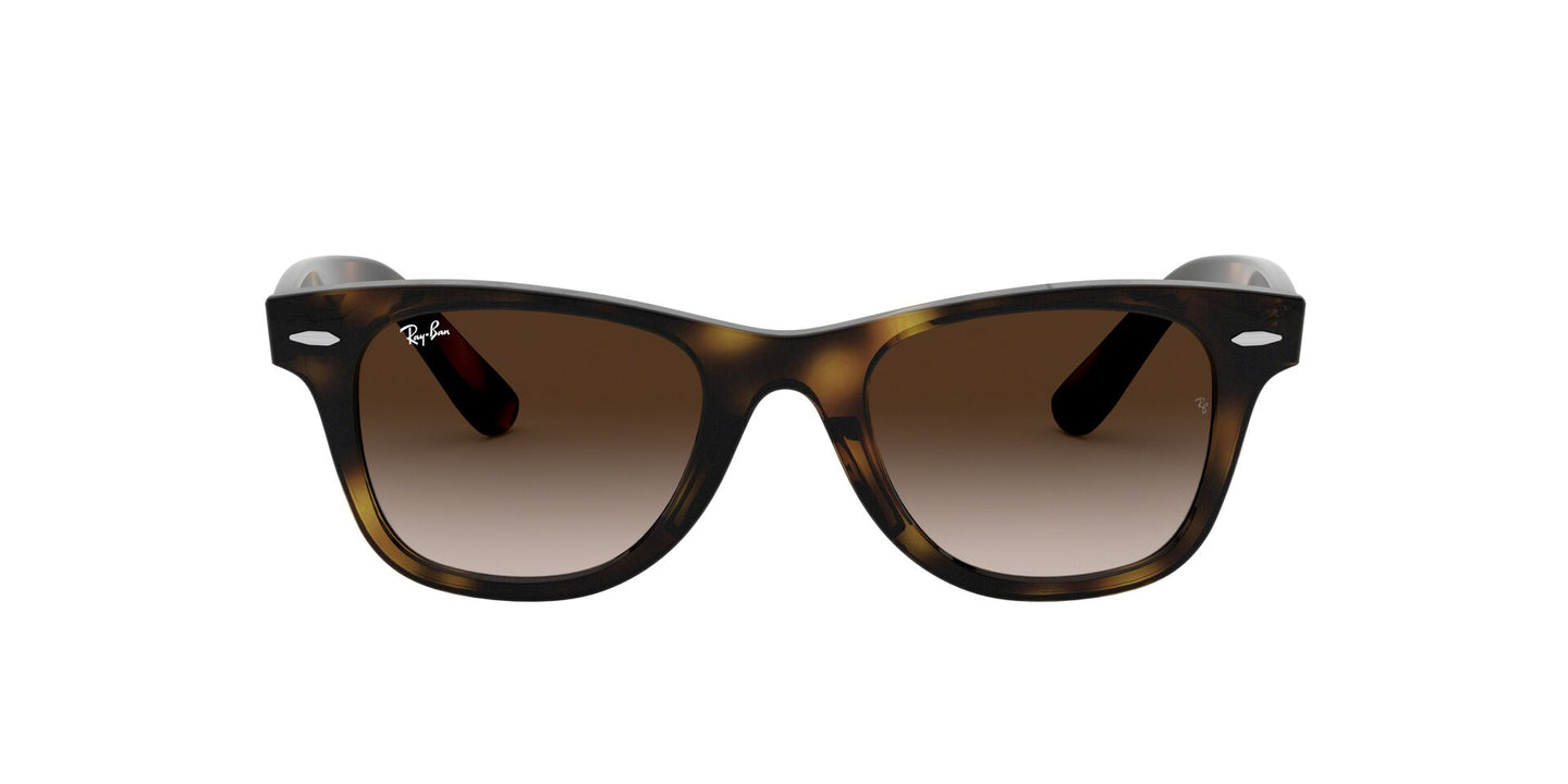 Ray Ban Jr - Wayfarer Havana/Brown Gradient Square Kids Sunglasses - 47mm