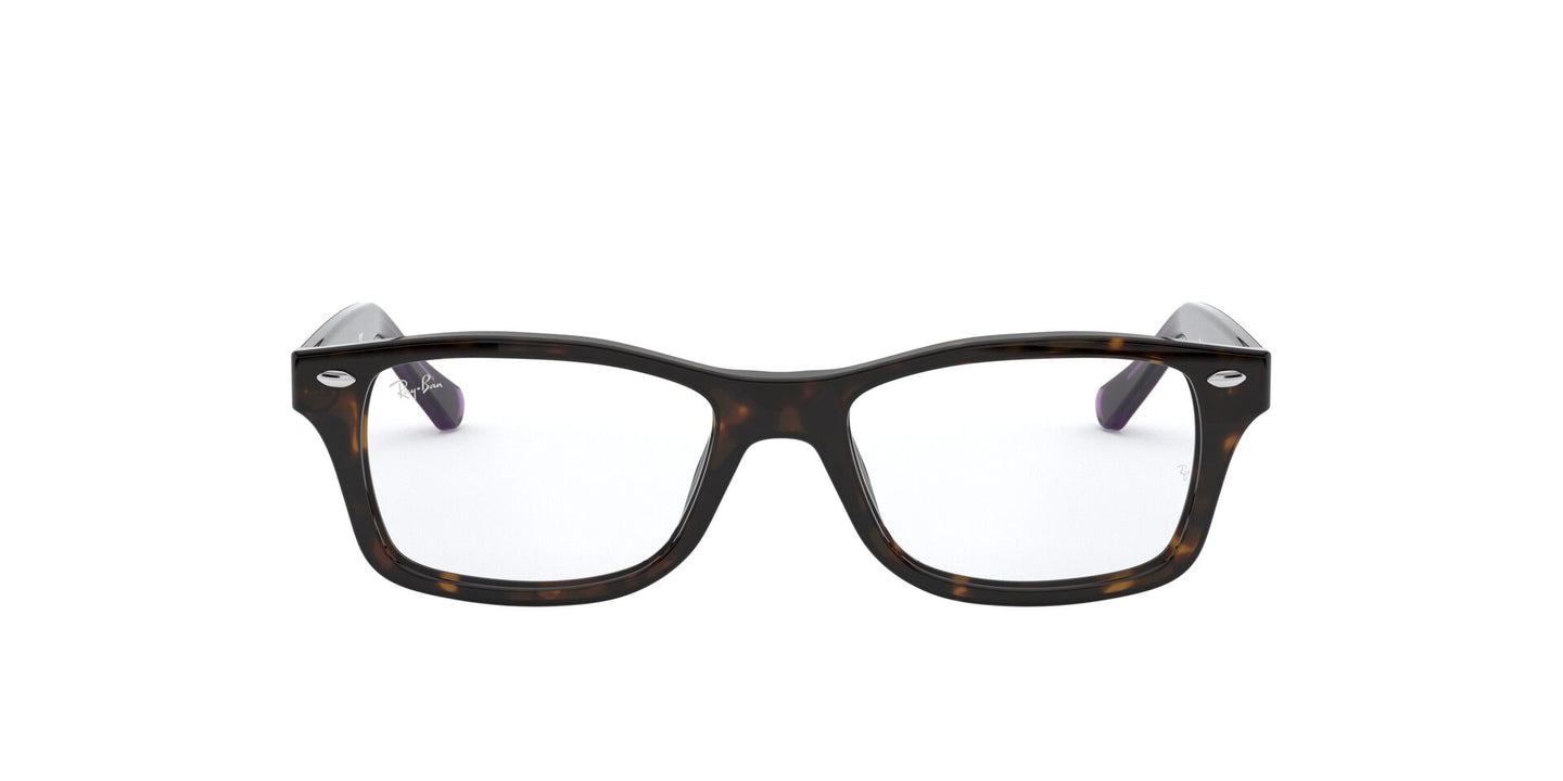 Ray Ban Jr - RY1531 Havana Square Unisex Eyeglasses - 48mm