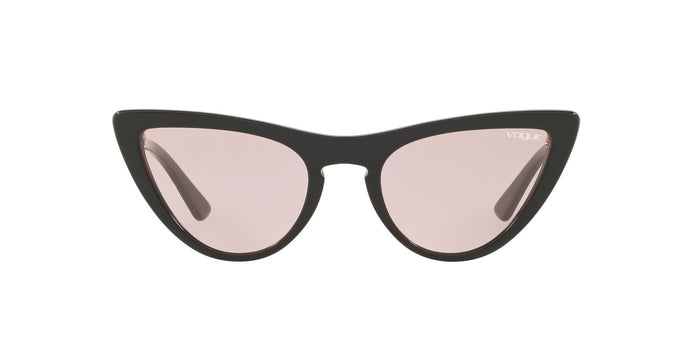 Vogue - VO5211S Black Cat Eye Women Sunglasses - 54mm