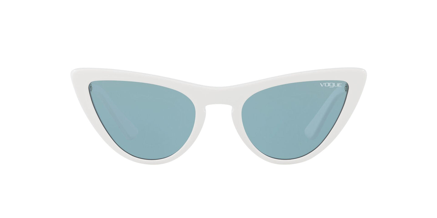Vogue - VO5211S White Cat Eye Women Sunglasses - 54mm