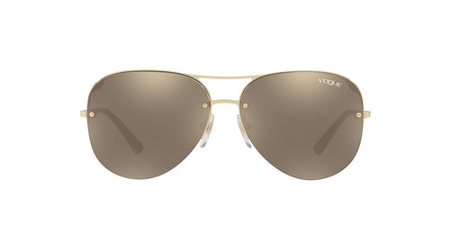 Vogue - VO4080S Pale Gold Aviator Women Sunglasses - 58mm