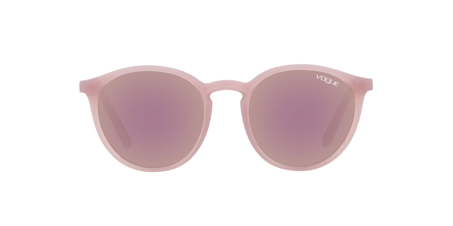 Vogue - VO5215S Opal Violet Round Women Sunglasses - 51mm