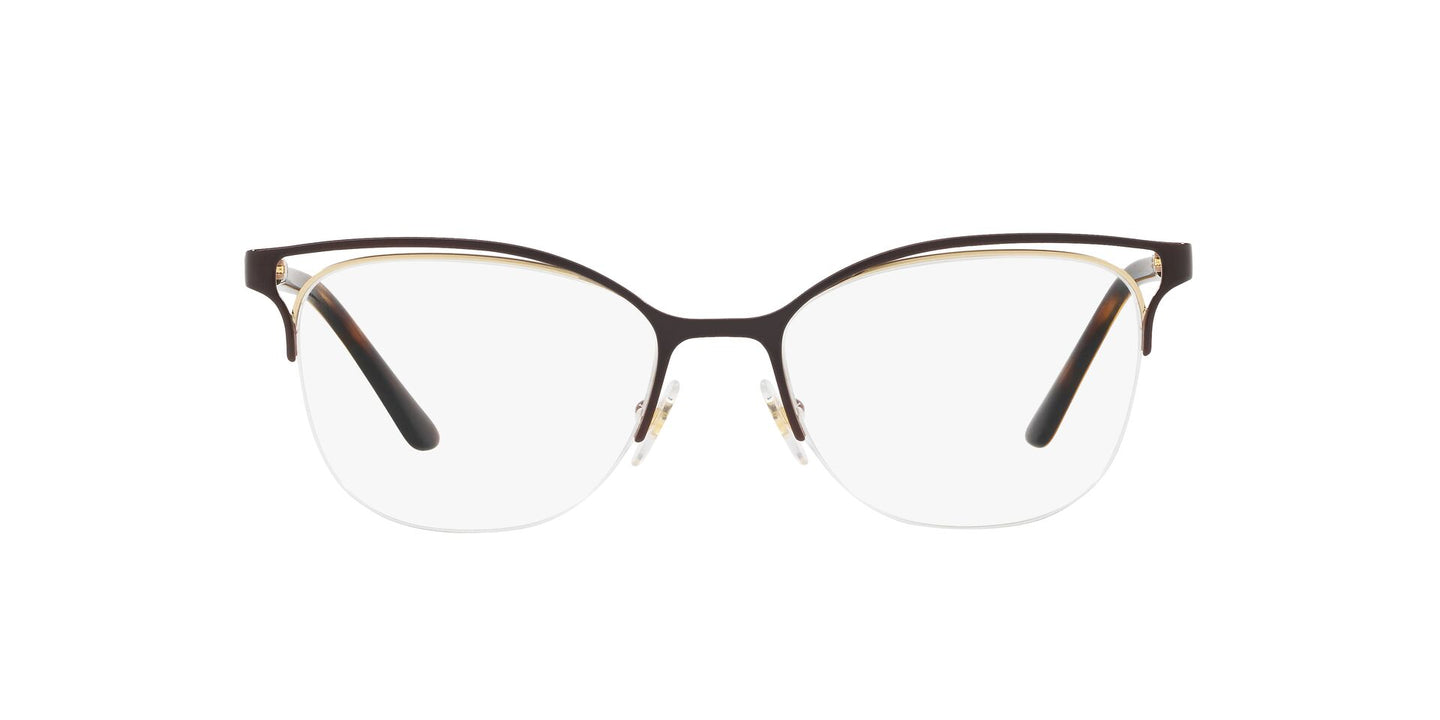 Vogue - VO4087 Brown/Pale Gold Pillow Women Eyeglasses - 51mm