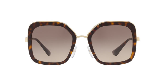 Prada - PR57US Havana/Brown Gradient Square Women Sunglasses - 54mm