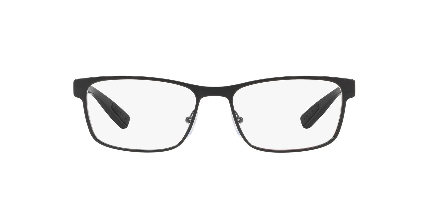 Prada Sport - PS50GV Black Rectangular Men Eyeglasses - 55mm