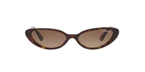 Vogue - VO5237S Dark Havana Cat Eye Women Sunglasses - 52mm
