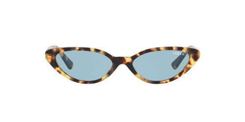 Vogue - VO5237S Brown Yellow Tortoise Cat Eye Women Sunglasses - 52mm