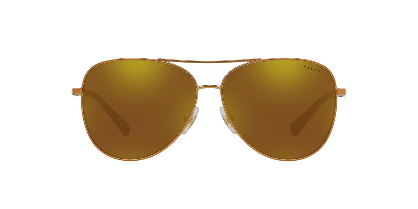 Ralph- Polo - RA4125 Light Bronze Aviator Women Sunglasses - 59mm