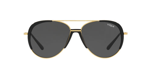 Vogue - VO4097S Gold Aviator Women Sunglasses - 58mm