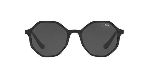 Vogue - VO5222S Black Irregular Women Sunglasses - 52mm