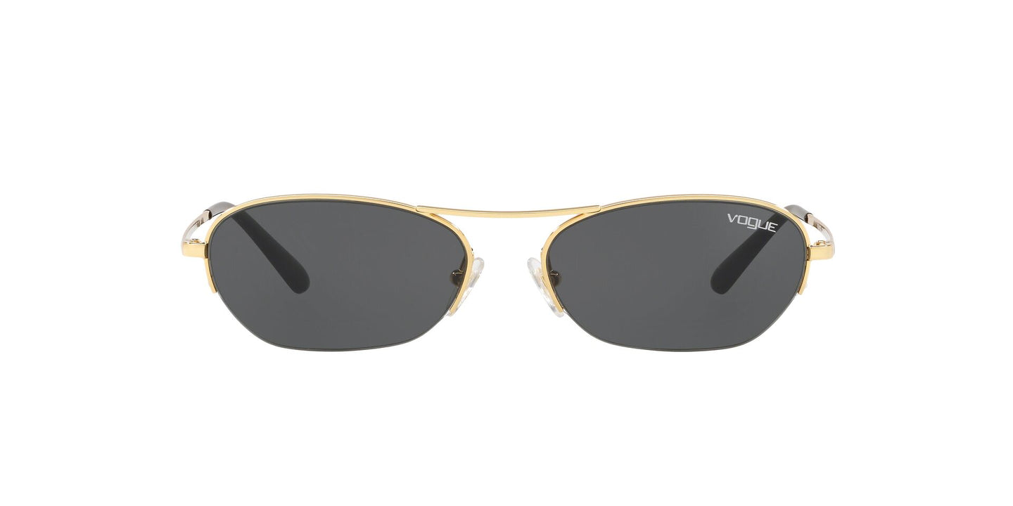 Vogue - VO4107S Gold Oval Women Sunglasses - 54mm