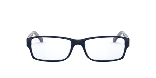 Ray Ban Rx - RX5169 Trasp Grey On Top Blue Rectangle Men Eyeglasses - 52mm
