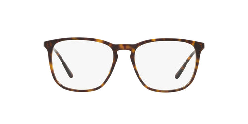 Ralph- Polo - PH2194 Dark Havana Square Men Eyeglasses - 54mm