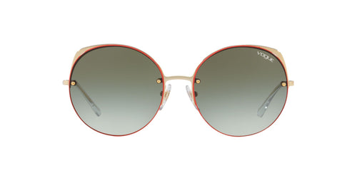 Vogue - VO4081S Pale Gold Round Women Sunglasses - 55mm