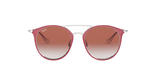 Ray Ban Jr - RJ9545S Silver On Top Red Phantos Women Sunglasses - 47mm