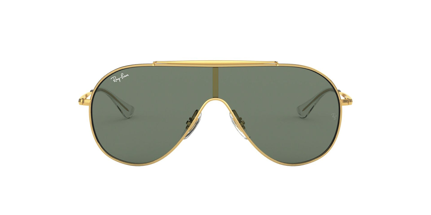 Ray Ban Jr - RJ9546S Gold Aviator Unisex Sunglasses - 20mm
