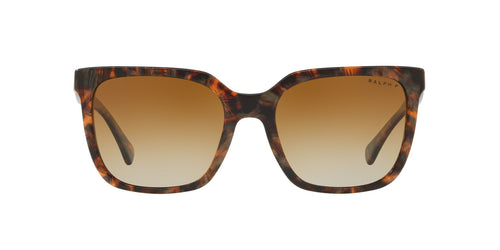 Ralph- Polo - RA5251 Brown Murble Square Women Sunglasses - 57mm