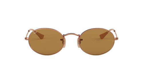 Ray Ban - RB3547N Copper Oval Unisex Sunglasses - 51mm