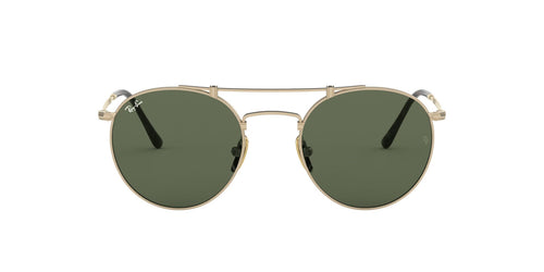 Ray Ban - RB8147 Titanium Brusched Demi Gloss White Gold Phantos Unisex Sunglasses - 50mm