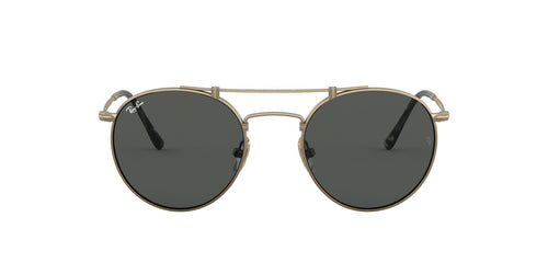 Ray Ban - RB8147 Titanium Demi Gloss Antique Gold Phantos Unisex Sunglasses - 50mm