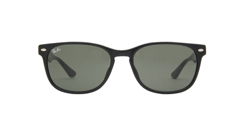 Ray Ban - RB2184F Black Square Unisex Sunglasses - 57mm