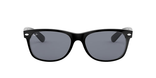 Ray Ban - New Wayfarer Black/Trasparent Wayfarer Men Sunglasses - 52mm