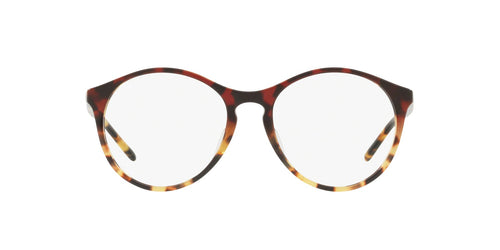 Ray Ban Rx - RX5371F Bordeaux Grad Havana Yellow Phantos Women Eyeglasses - 53mm