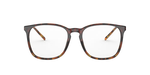 Ray Ban Rx - RX5387F Bordeaux Gradient Havana Red Square Men Eyeglasses - 54mm