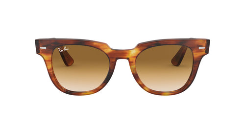 Ray Ban - RB2168 Stripped Havana Square Unisex Sunglasses - 50mm