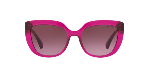 Ralph- Polo - RA5254 Burgundy Butterfly Women Sunglasses - 54mm
