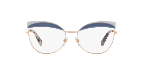 Valentino - VA1014 Rose Gold Butterfly Women Eyeglasses - 54mm