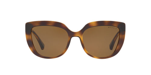 Ralph- Polo - RA5254 Dark Havana Butterfly Women Sunglasses - 54mm