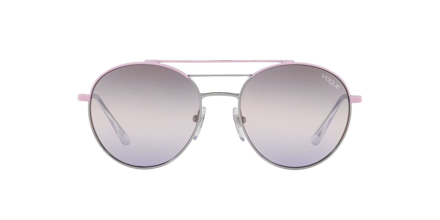 Vogue - VO4117S Pink/Gunmetal Phantos Women Sunglasses - 54mm