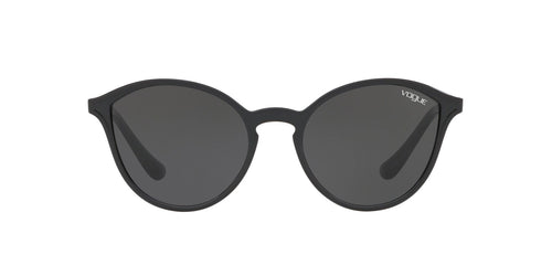 Vogue - VO5255S Black Phantos Women Sunglasses - 55mm