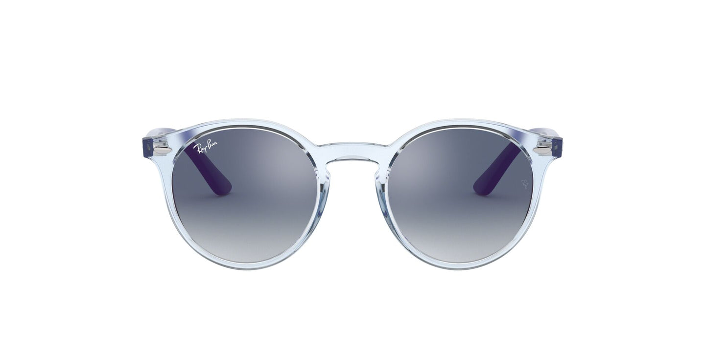 Ray Ban Jr - RJ9064S Trasparent Light Blue Phantos Unisex Sunglasses - 44mm