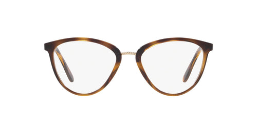 Vogue - VO5259 Dark Havana Round Women Eyeglasses - 51mm