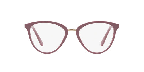 Vogue - VO5259 Top Antique Pink/Pink Transp Round Women Eyeglasses - 51mm