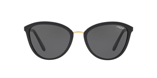 Vogue - VO5270S Black Cat Eye Women Sunglasses - 57mm