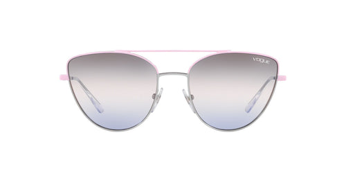 Vogue - VO4130S Pink/Gunmetal Cat Eye Women Sunglasses - 56mm