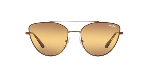 Vogue - VO4130S Copper Cat Eye Women Sunglasses - 56mm